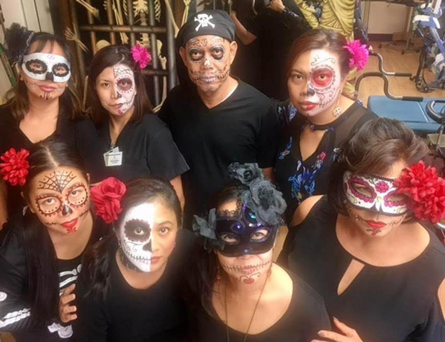 Claremont Care Center Halloween